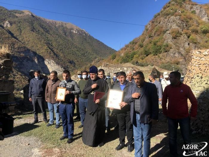Albano-Udi Christian community honors memory of martyrs in Khudavang monastery in Kalbajar