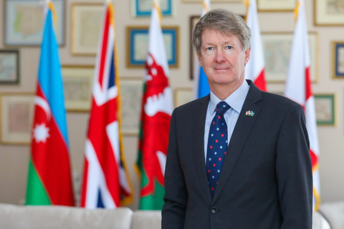 British Ambassador to Azerbaijan tweets on occasion of Remembrance Day