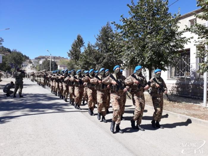 Patriotic War martyrs commemorated in Shusha