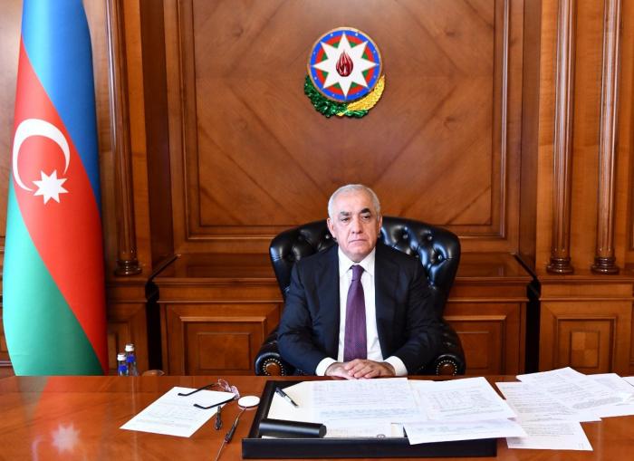 Azerbaijani prime minister sends letter to Turkish vice president