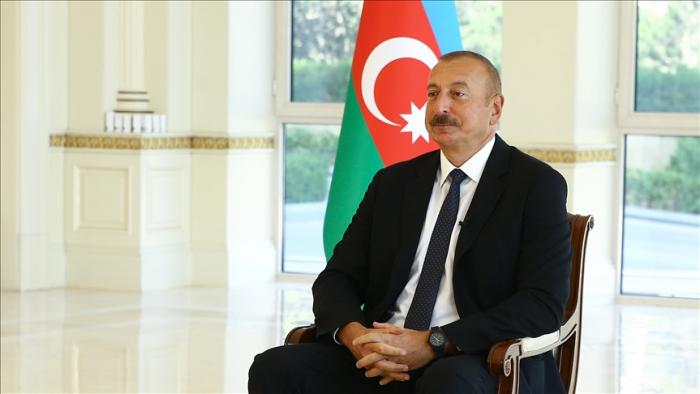 Präsident Aliyev:   Armenien sollte sich bemühen, die Beziehungen zu Aserbaidschan zu normalisieren