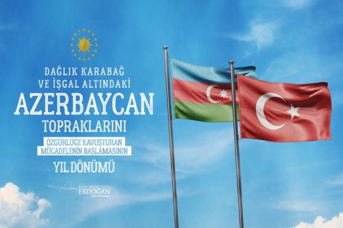 Erdogans Twitter-Share anlässlich des Gedenktages