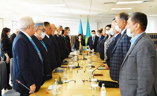 Speaker of Azerbaijani Parliament attends Remembrance Day ceremony in Kazakhstan