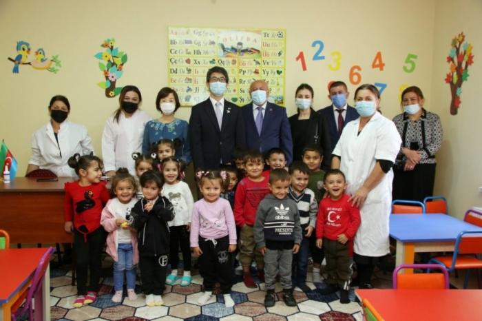 سفير اليابان يسافر الى أغجابدي -   صور