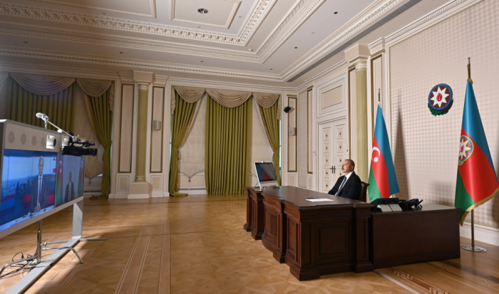 """قناة """"فرنسا 24"""" التلفزيونية تجري مقابلة حصرية مع الرئيس الأذربيجاني"""