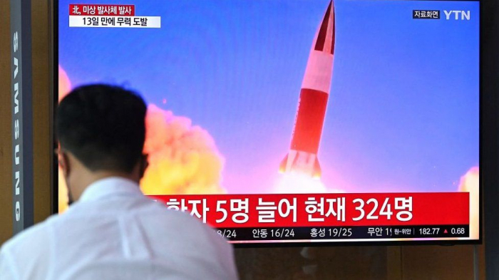 North Korea fires missile, says South