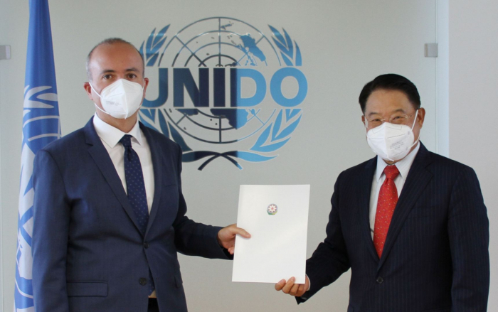 Azerbaijan's new ambassador to Austria agrees to finalize five-year co-op framework with UNIDO