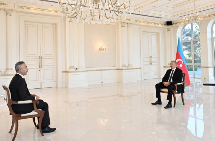 President Ilham Aliyev's interview with Turkish Anadolu Agency -   FULL TEXT