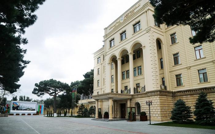 Azerbaijani MoD dismisses Armenian media reports as 'false'