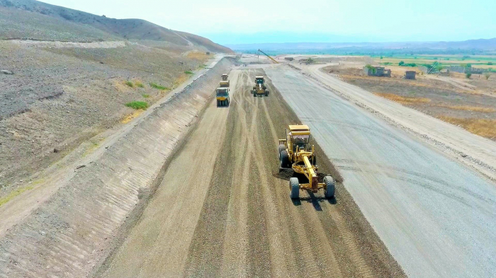 Azerbaijan continues road constructions in liberated lands -   PHOTOS