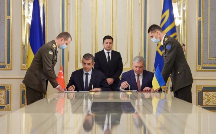 """Türkiyənin """"Bayraktar"""" xidmət mərkəzi Ukraynada tikiləcək"""