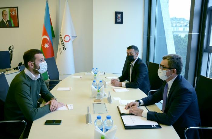 مناقشة آفاق تنمية التعاون بين اذبرومو والشركة الجورجية