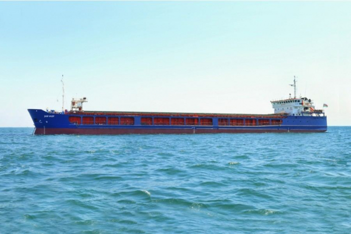 Baku shipyard completes repair of dry cargo vessel