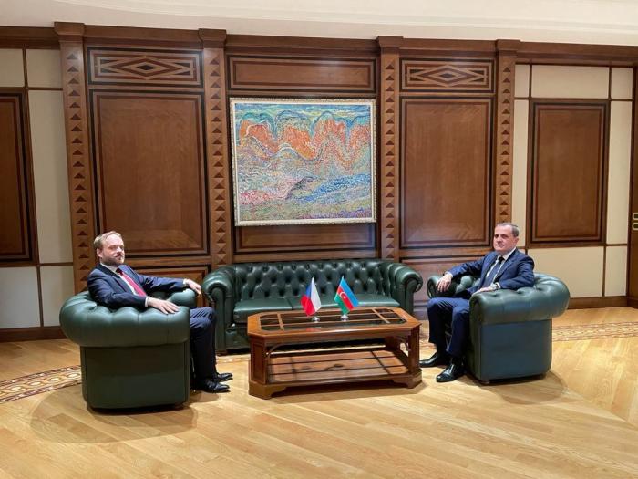 Expanded meeting between Azerbaijani and Czech FMs kicks off
