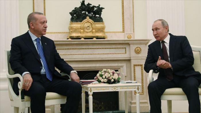 "Erdogan  :""Abordamos con Putin el tema de Karabaj en detalle"""
