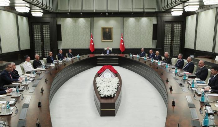 Türkiyə Təhlükəsizlik Şurasının iclası keçirilib