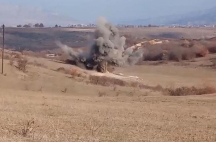 Azərbaycan hərbçisi Zəngilanda minaya düşdü
