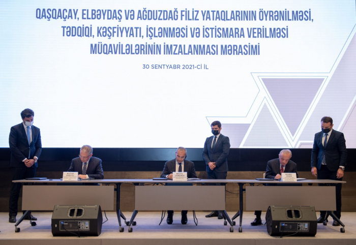 Azerbaijan inks contracts with Turkish companies for ore deposits exploitation