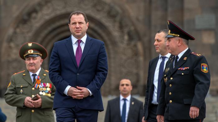 Former Armenian defense minister David Tonoyan arrested