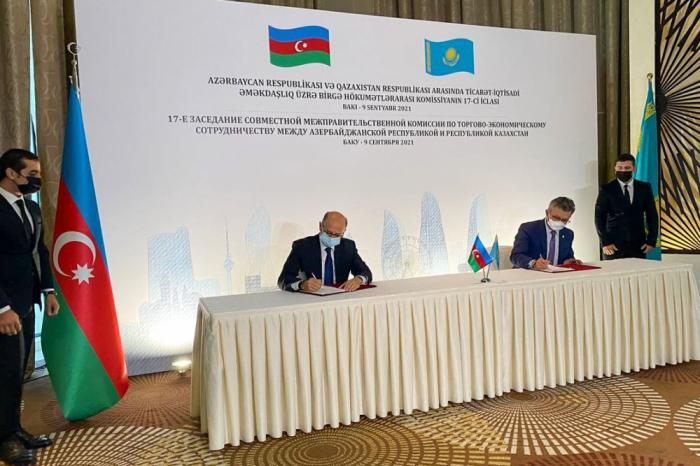17th meeting of Azerbaijan-Kazakhstan Intergovernmental Commission held in Baku