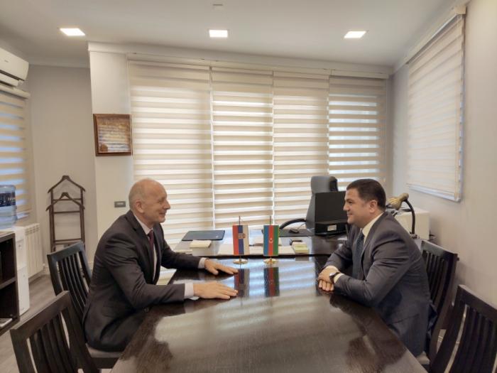 Azerbaijan, Serbia discuss cooperation prospects