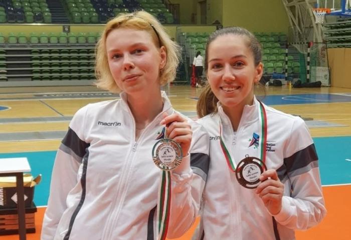 Azerbaijani female fencers bag two medals in Bulgaria