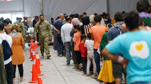 أمريكا تعلق نقل اللاجئين الأفغان بعد اكتشاف إصابات بالحصبة
