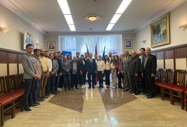 Embajada de Azerbaiyán celebra una reunión con los azerbaiyanos que residen en Estonia