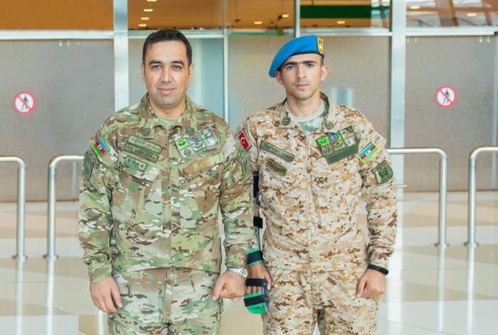 Cinq autres anciens combattants azerbaïdjanais envoyés en Turquie pour y être soignés