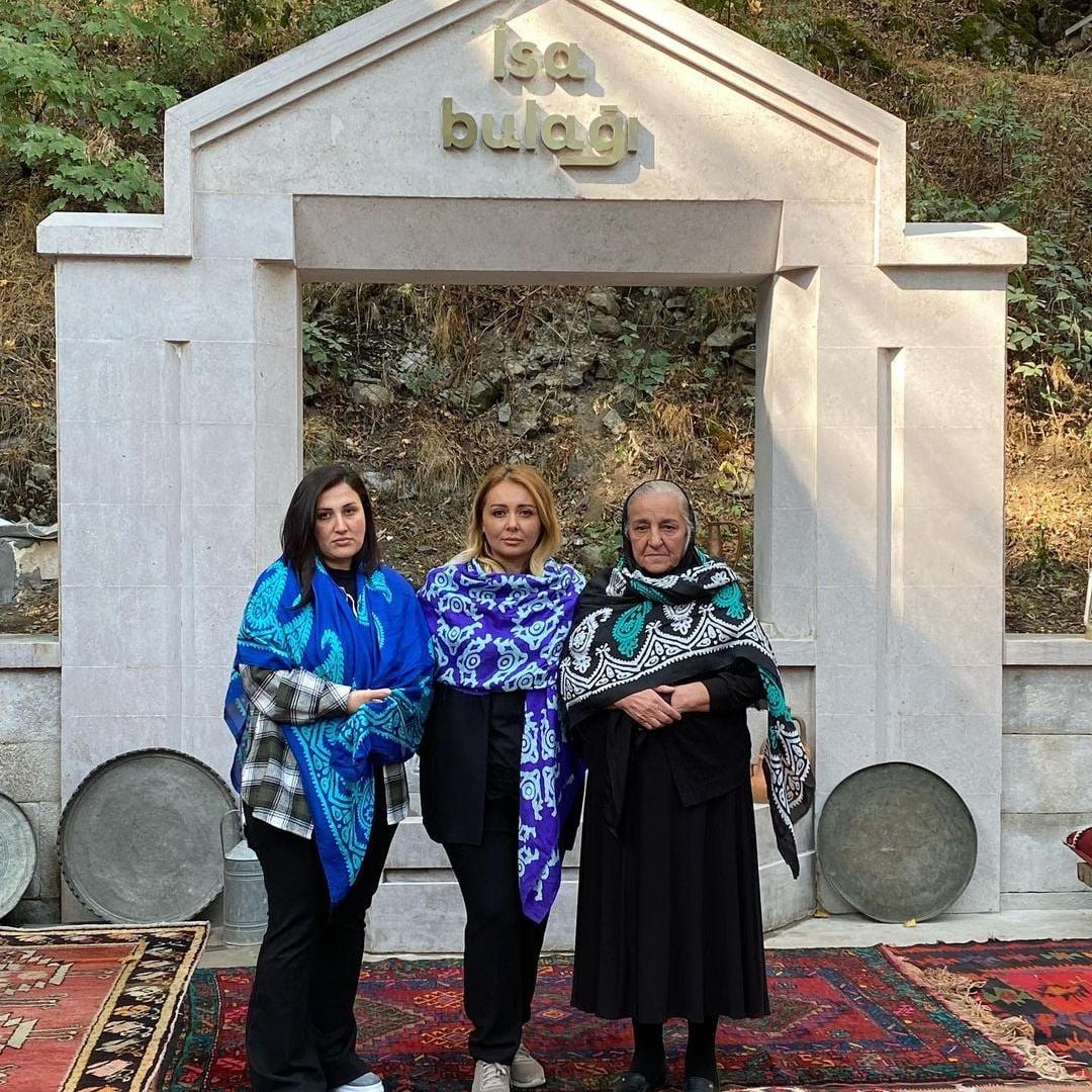 Şəhid anaları Şuşada -    FOTO