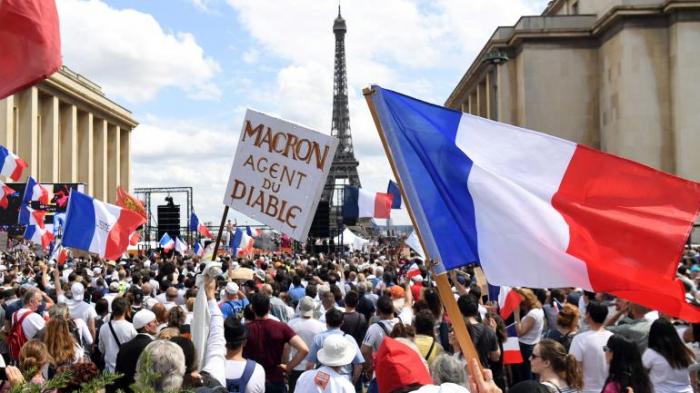 La prochiane action contre le pass sanitaire à Paris