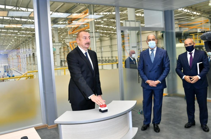 """Sumqayıt Kimya Sənaye Parkında """"Azmonbat"""" MMC-nin açılışı olub -  YENİLƏNİB"""