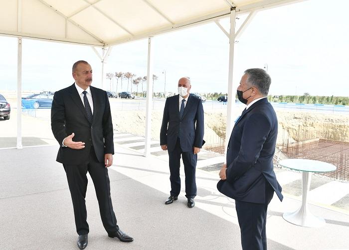 Sumqayıtda güzəştli mənzil kompleksinin təməli qoyulub -  YENİLƏNİB