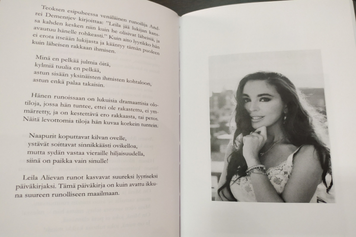 Leyla Əliyevanın kitabı fin dilində nəşr olunub