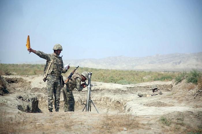 Continúan los ejercicios de combate de las unidades de mortero -  VIDEO