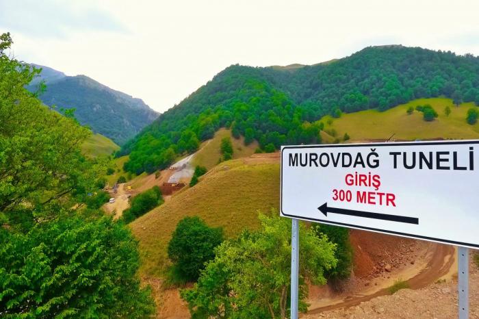 Murovdağ tuneli ilə bağlı yanlış xəbər yayılıb -  Rəsmi dəqiqləşdirmə