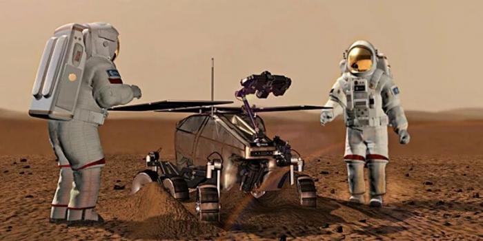 Marsda    kosmik toz, qan, tər və nəcisdən   tikinti materialları hazırlanacaq