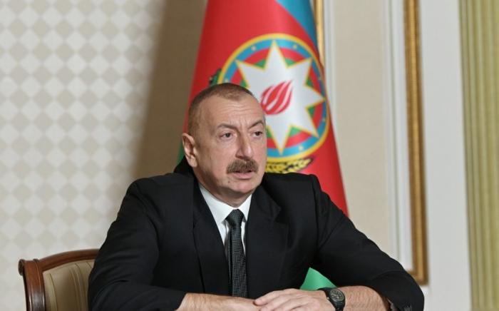 """""""Ermənilər ekosid törədib"""" -    İlham Əliyev"""