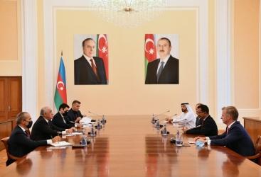 Le PM azerbaïdjanaisrencontre le président du groupe et PDG de DP World