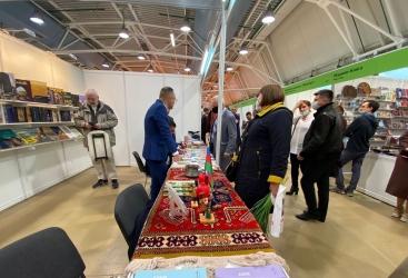Azerbaiyán participa en la 34ª Feria Internacional del Libro