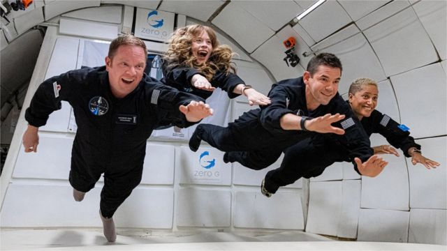 """""""SpaceX""""    ilk mülki kosmik missiyanı reallaşdırdı"""