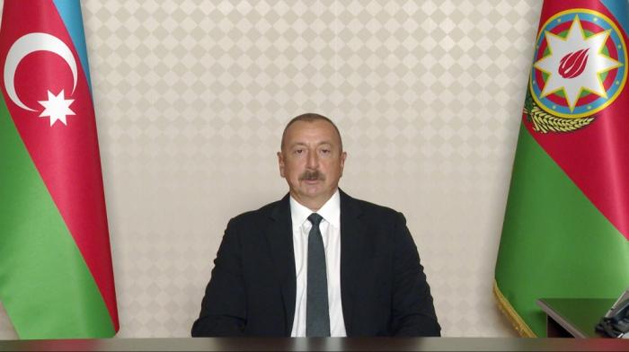 """Prezident İlham Əliyev:    """"Fransa özünü dürüst vasitəçi kimi aparmadı"""""""