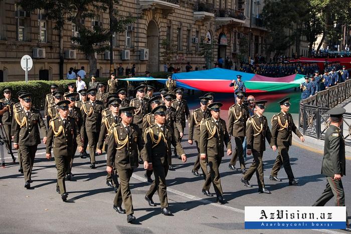 La libération de Bakou célébrée dans les rues de la capitale – PHOTOS