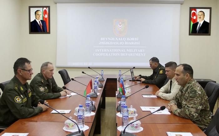 Belarusla hərbi əməkdaşlıq müzakirə edilib