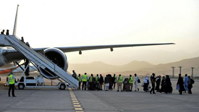 Un premier vol passager international quitte Kabouldepuis le retrait américain