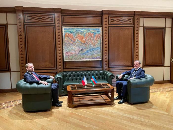 Azerbaijani FM receives Czech counterpart