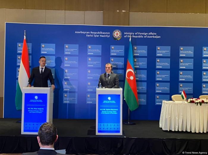 """""""Ermənistan tərəfindən konstruktiv addımlar görmürük"""" -    Ceyhun Bayramov"""