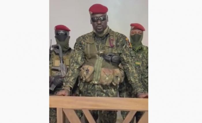 Qvineya:    Qiyamçıların lideri qələbəsini elan etdi -    VİDEO