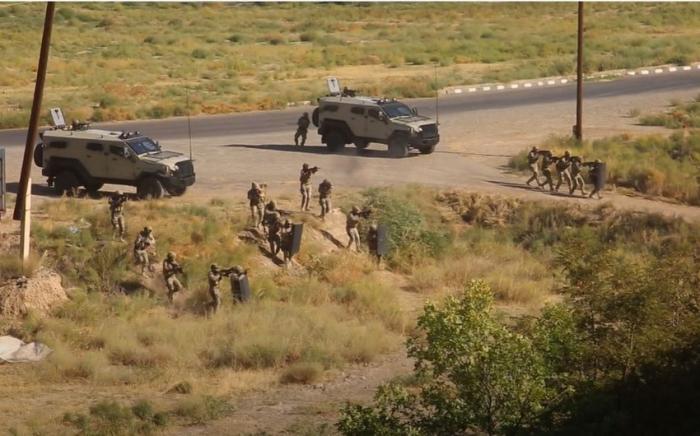 Naxçıvanda terrorla mübarizə üzrə xüsusi təlim keçirilib -    VİDEO