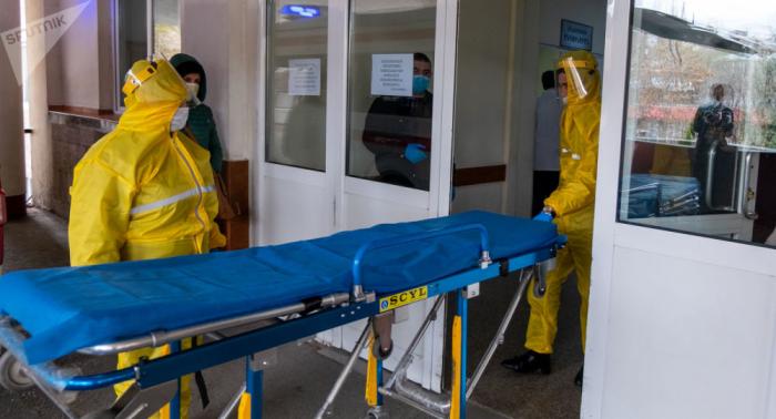 Ermənistanda virusa yoluxanların sayı artıb